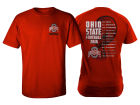 Ohio State Buckeyes J America NCAA 2016 Men's Football Schedule T-Shirt T-Shirts