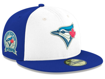 Toronto Blue Jays MLB 40th Anniversary 59FIFTY Cap Hats