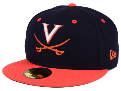 Virginia Cavaliers NCAA AC 59FIFTY Cap Hats