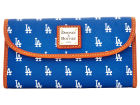 Los Angeles Dodgers Dooney & Bourke Large Dooney & Bourke Continental Clutch Luggage, Backpacks & Bags