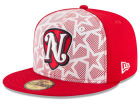 Nashville Sounds New Era 2016 MiLB Stars & Stripes 59FIFTY Cap Fitted Hats