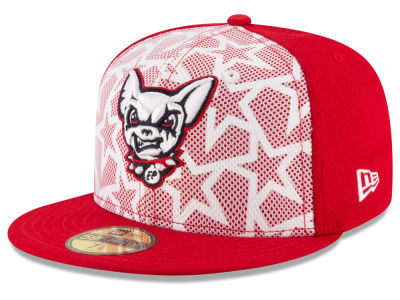 EL Paso Chihuahuas 2016 MiLB Stars & Stripes 59FIFTY Cap Hats