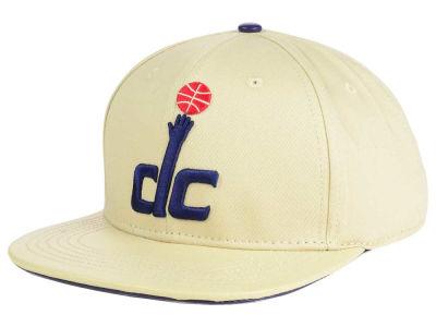 lowest price ca9c4 ec396 ... top quality washington wizards pro standard nba cream leather strapback  cap lids d0fa5 4f953
