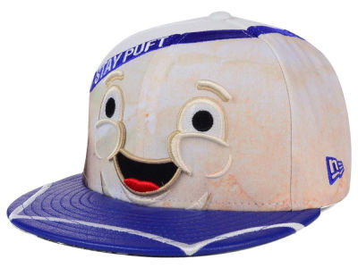Ghostbusters Stay Puft GB Character Face 59FIFTY Cap Hats