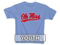 Blue 84 NCAA Youth Script Block T-Shirt T-Shirts