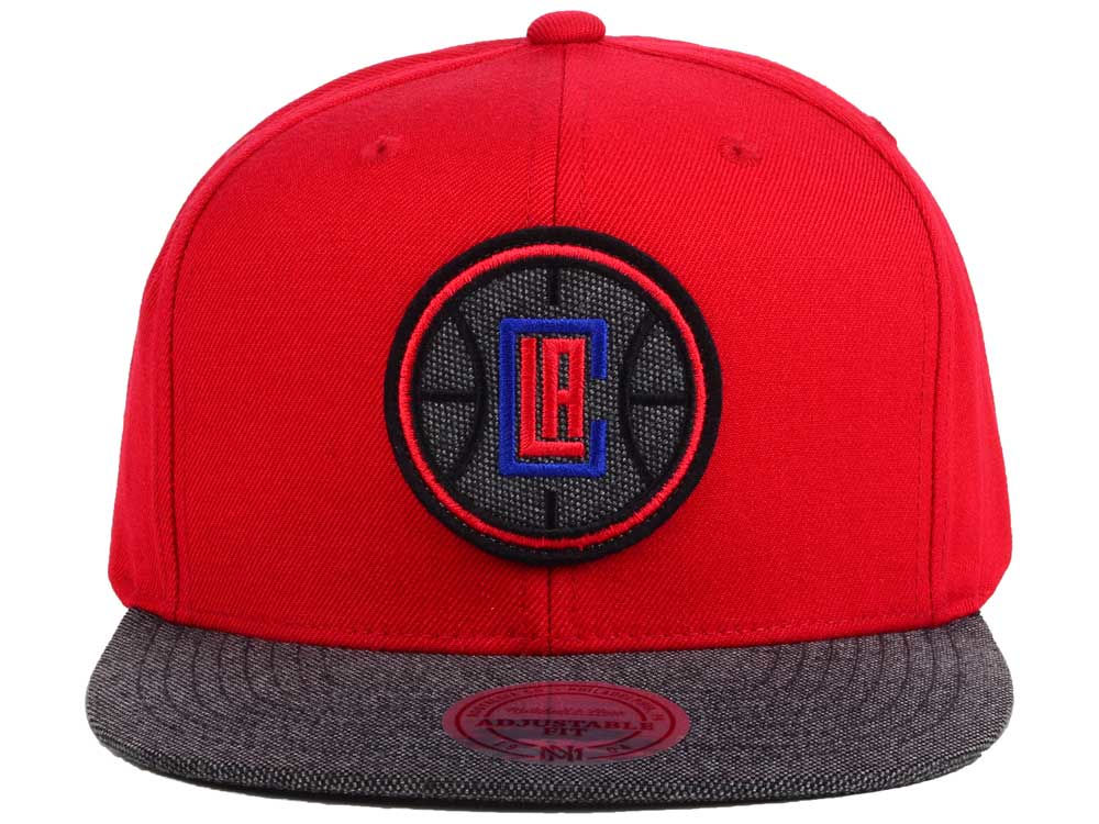 sports shoes ac25c dea00 ... 50% off on sale los angeles clippers mitchell and ness nba team color  cation snapback