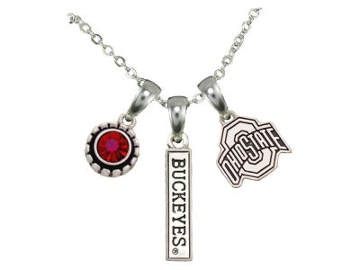 Tri Charm Necklace