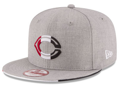 Cincinnati Reds MLB Triple-H 9FIFTY Snapback Cap Hats