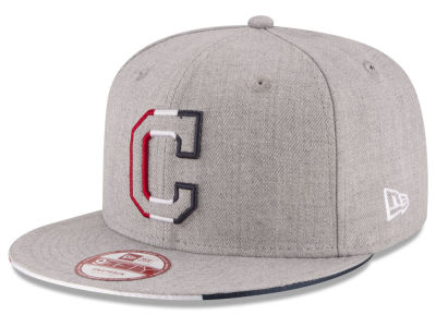 Cleveland Indians MLB Triple-H 9FIFTY Snapback Cap Hats