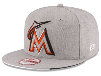 Miami Marlins MLB Triple-H 9FIFTY Snapback Cap Hats