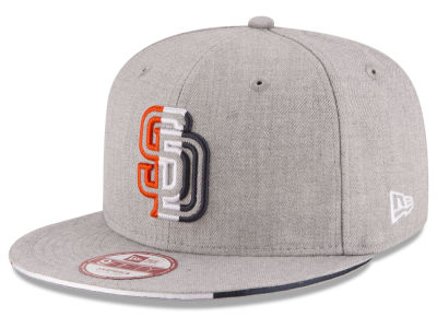 San Diego Padres MLB Triple-H 9FIFTY Snapback Cap Hats