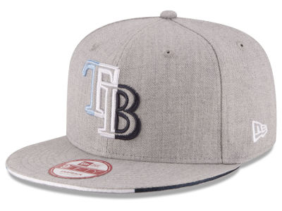 Tampa Bay Rays MLB Triple-H 9FIFTY Snapback Cap Hats