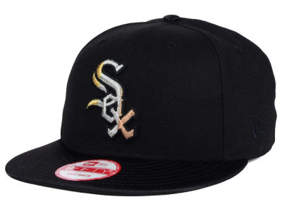 Chicago White Sox MLB All Metals 9FIFTY Snapback Cap Hats