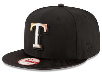 Texas Rangers MLB All Metals 9FIFTY Snapback Cap Hats