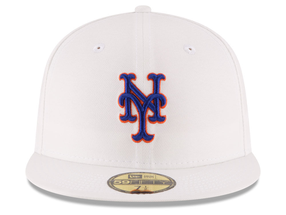 pretty nice 98d79 93b39 ... well wreapped new york mets new era mlb home team 59fifty cap