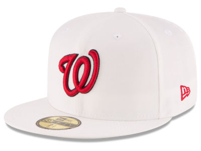 Washington Nationals MLB Home Team 59FIFTY Cap Hats