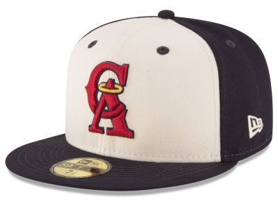 Los Angeles Angels MLB Vintage Throwback 59FIFTY Cap Hats