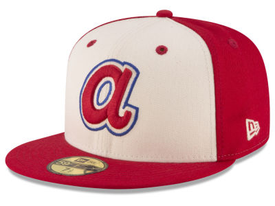 Atlanta Braves MLB Vintage Throwback 59FIFTY Cap Hats
