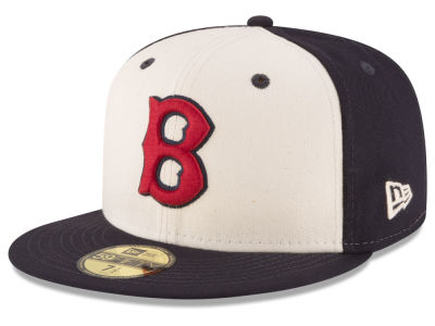 Boston Red Sox MLB Vintage Throwback 59FIFTY Cap Hats