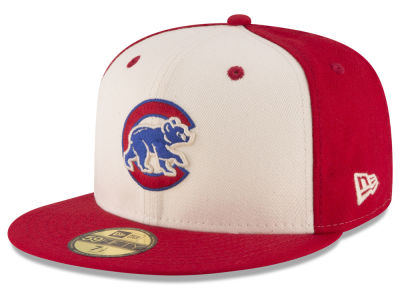 Chicago Cubs MLB Vintage Throwback 59FIFTY Cap Hats