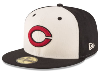 Cincinnati Reds MLB Vintage Throwback 59FIFTY Cap Hats