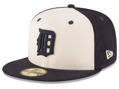 Detroit Tigers MLB Vintage Throwback 59FIFTY Cap Hats