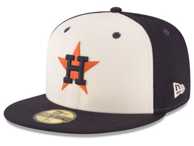 Houston Astros MLB Vintage Throwback 59FIFTY Cap Hats