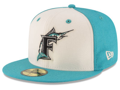 Florida Marlins MLB Vintage Throwback 59FIFTY Cap Hats