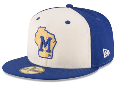 Milwaukee Brewers MLB Vintage Throwback 59FIFTY Cap Hats
