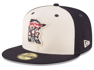 Minnesota Twins MLB Vintage Throwback 59FIFTY Cap Hats