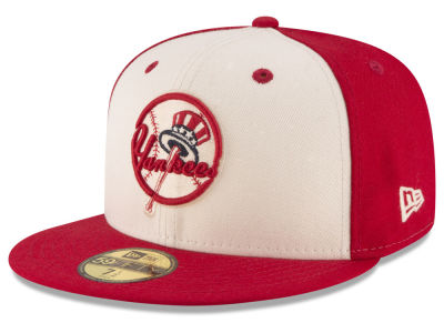 New York Yankees MLB Vintage Throwback 59FIFTY Cap Hats