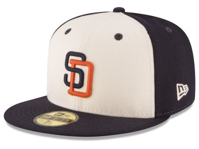San Diego Padres MLB Vintage Throwback 59FIFTY Cap Hats
