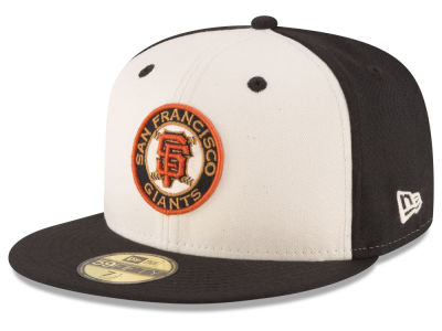 San Francisco Giants MLB Vintage Throwback 59FIFTY Cap Hats
