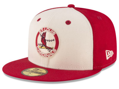 St. Louis Cardinals MLB Vintage Throwback 59FIFTY Cap Hats