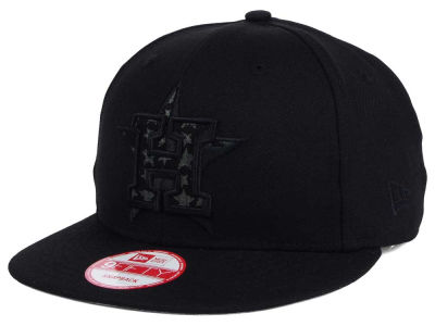 Houston Astros MLB XL Iridescent Logo 9FIFTY Snapback Cap Hats
