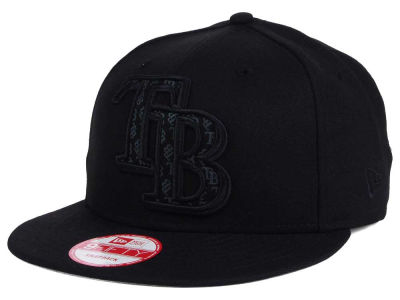 Tampa Bay Rays MLB XL Iridescent Logo 9FIFTY Snapback Cap Hats