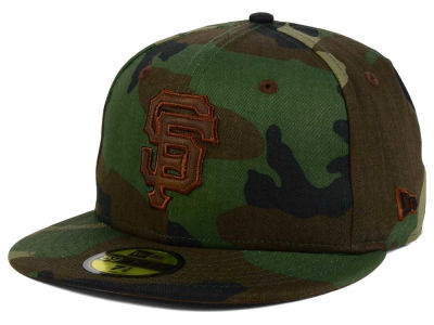 San Francisco Giants MLB Leatherwood 59FIFTY Cap Hats