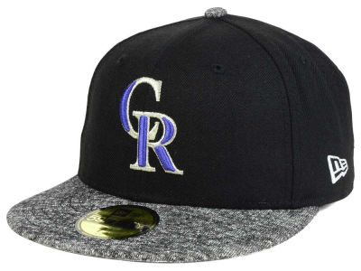 Colorado Rockies MLB Team Frenchie 59FIFTY Cap Hats