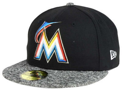 Miami Marlins MLB Team Frenchie 59FIFTY Cap Hats