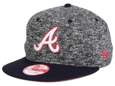 Atlanta Braves MLB 2-Frenchie 9FIFTY Snapback Cap Hats