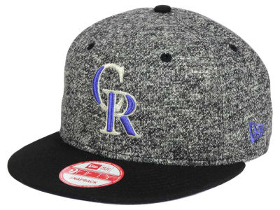 Colorado Rockies MLB 2-Frenchie 9FIFTY Snapback Cap Hats