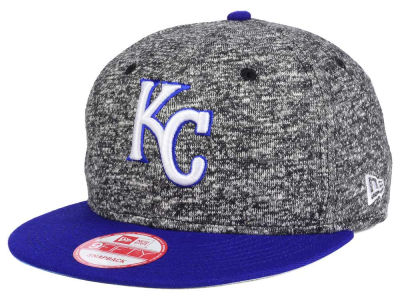 Kansas City Royals MLB 2-Frenchie 9FIFTY Snapback Cap Hats