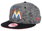 Miami Marlins New Era MLB 2-Frenchie 9FIFTY Snapback Cap Adjustable Hats