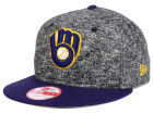 Milwaukee Brewers New Era MLB 2-Frenchie 9FIFTY Snapback Cap Adjustable Hats