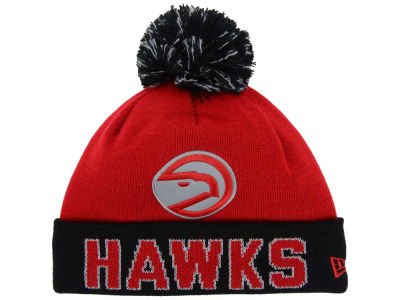 Atlanta Hawks NBA Hardwood Court Big Reflective Knit Hats