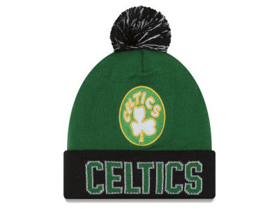 Boston Celtics NBA Hardwood Court Big Reflective Knit Hats