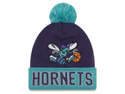 Charlotte Hornets NBA Hardwood Court Big Reflective Knit Hats