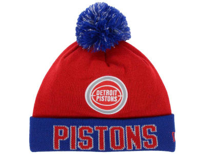 Detroit Pistons NBA Hardwood Court Big Reflective Knit Hats