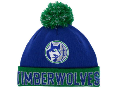 Minnesota Timberwolves NBA Hardwood Court Big Reflective Knit Hats