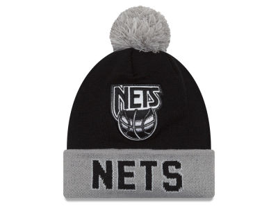 New Jersey Nets NBA Hardwood Court Big Reflective Knit Hats